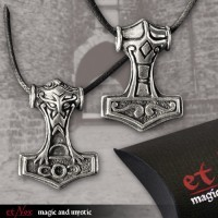 Silberanhänger Thors Hammer