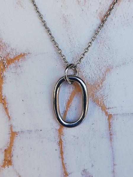 Rhd. Silber Halskette SOFT52 15mm