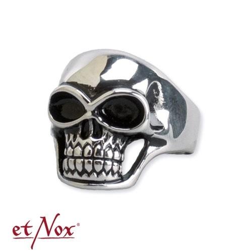 Edelstahlring Skull