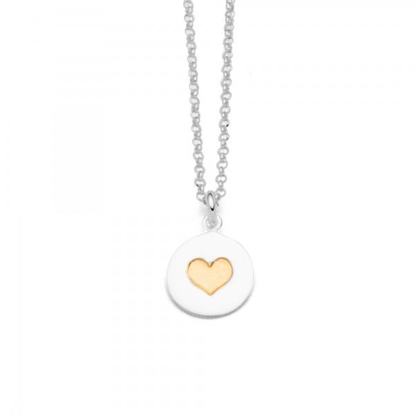 Silberkette Liebe