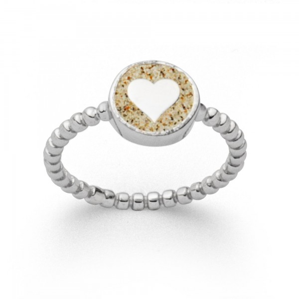 Silberring Liebe
