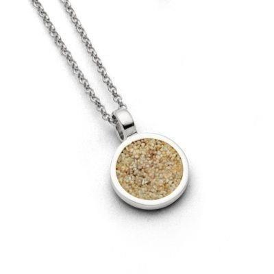 Silberkette kleiner Sandkuss