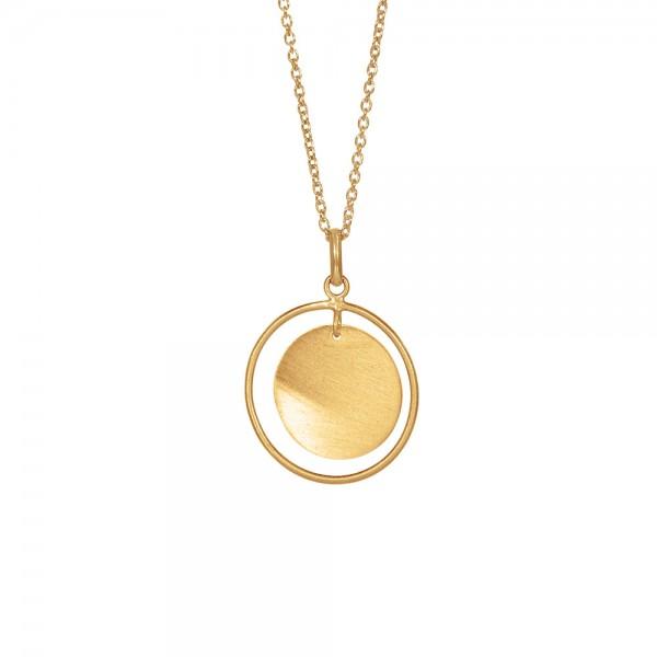 vergoldet silberanhänger Tassel 20mm