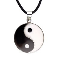 Silberanhänger ying Yang 20mm